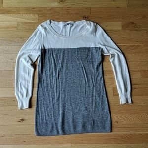 GAP Grey & White Sweater